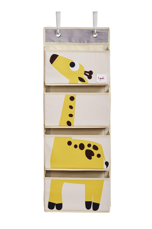 3 sprouts rangement mural girafe