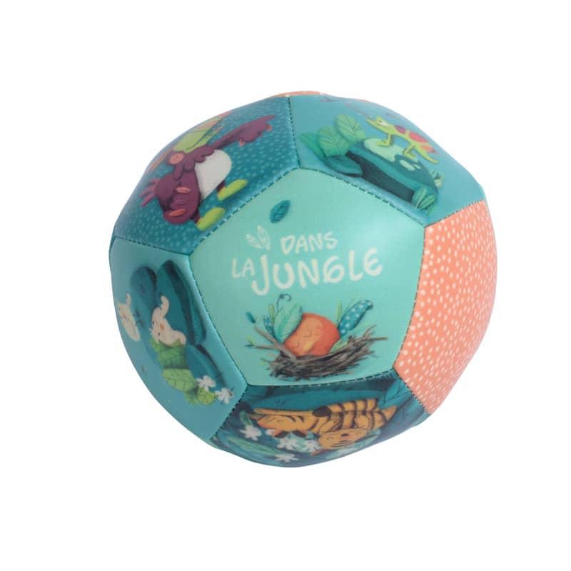 Ballon souple Dans la jungle Moulin Roty
