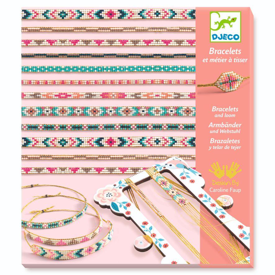 Bracelets et métier à tisser Perles Minuscules Djeco