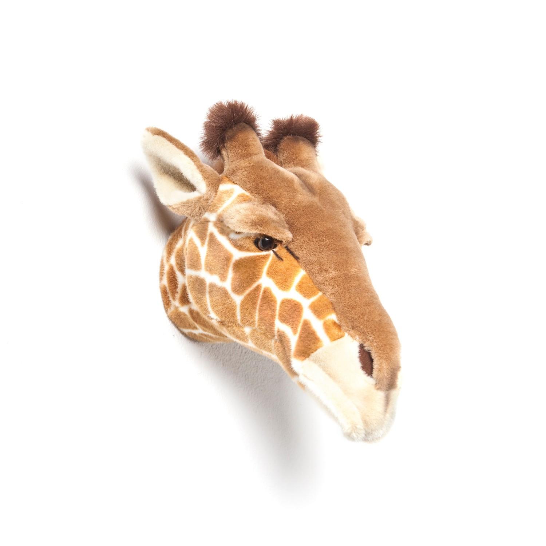 Décoration Trophée peluche girafe Ruby Wild and Soft