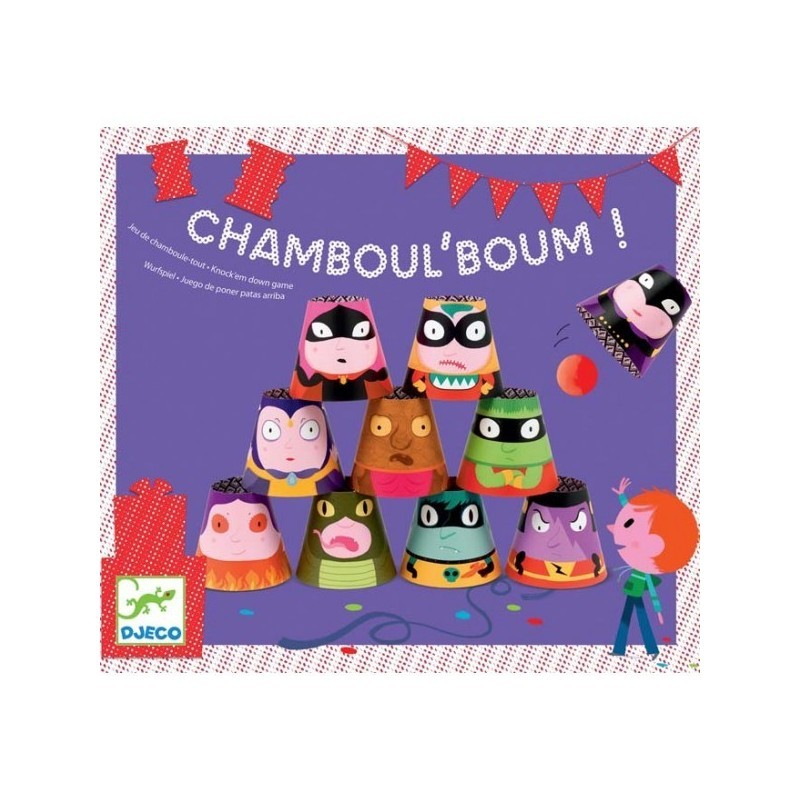 Jeu d'adresse Anniversaire Chamboul'Boum Djeco