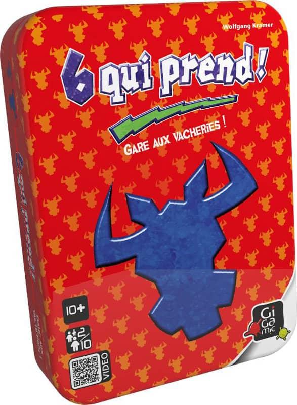 Jeu de cartes 6 qui prend Gigamic