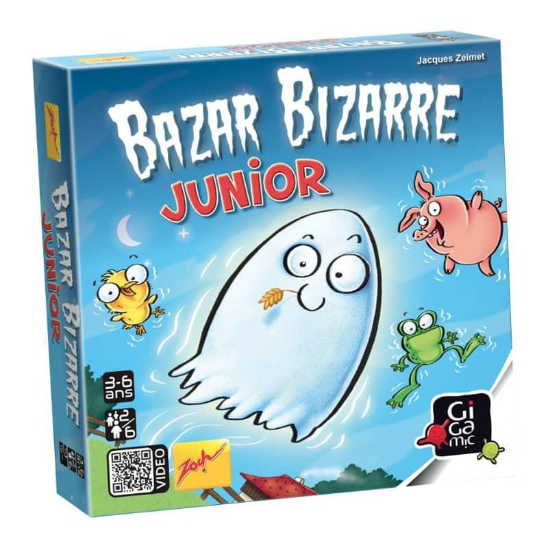 Jeu de cartes et de réflexion Bazar Bizarre Junior Gigamic