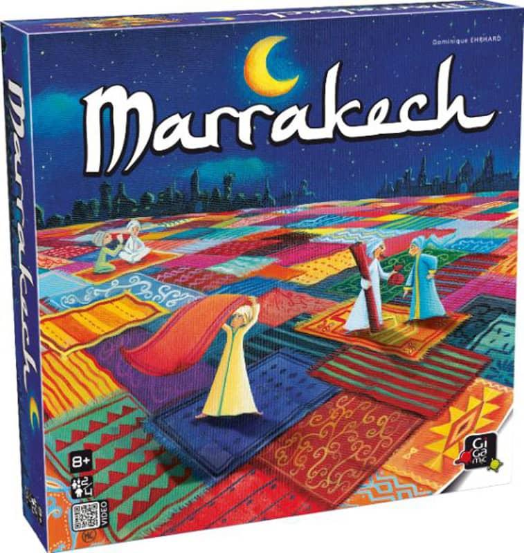 Jeu de société Marrakech Gigamic