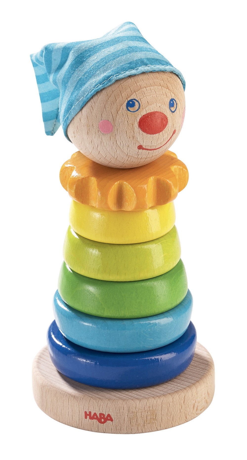 haba jouet empiler bois guignol