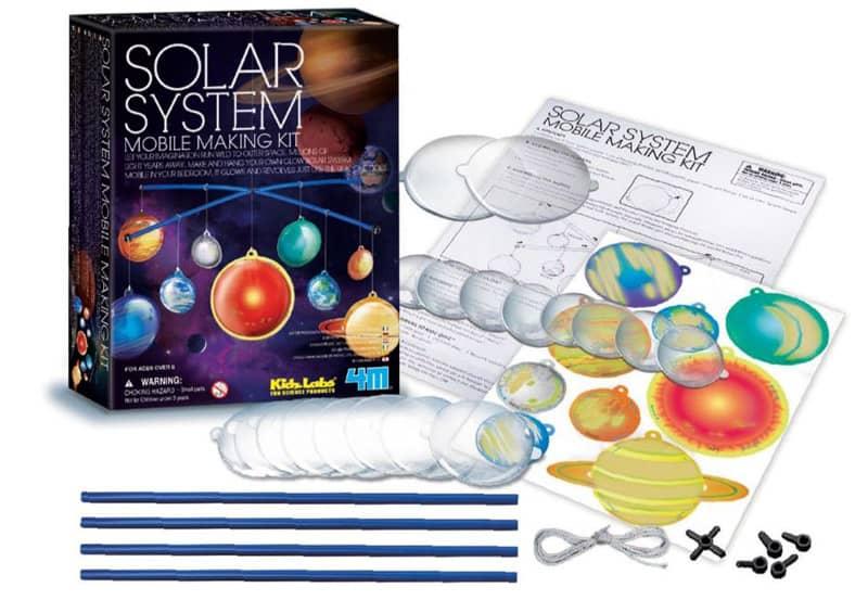 Kit de fabrication Mobile Système Solaire Phosphorescent 4M
