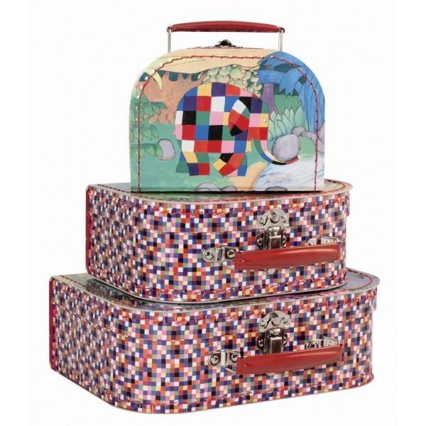 Set de 3 valises Elmer Petit Jour Paris