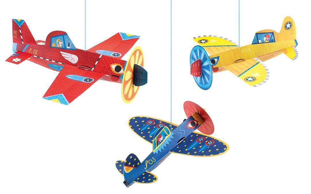 Suspensions Avions Djeco