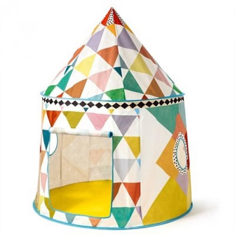 Tente Cabane multicolore Little Big Room Djeco