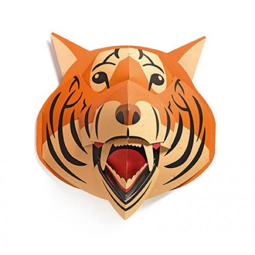Trophée Pop up Tigre orange Djeco