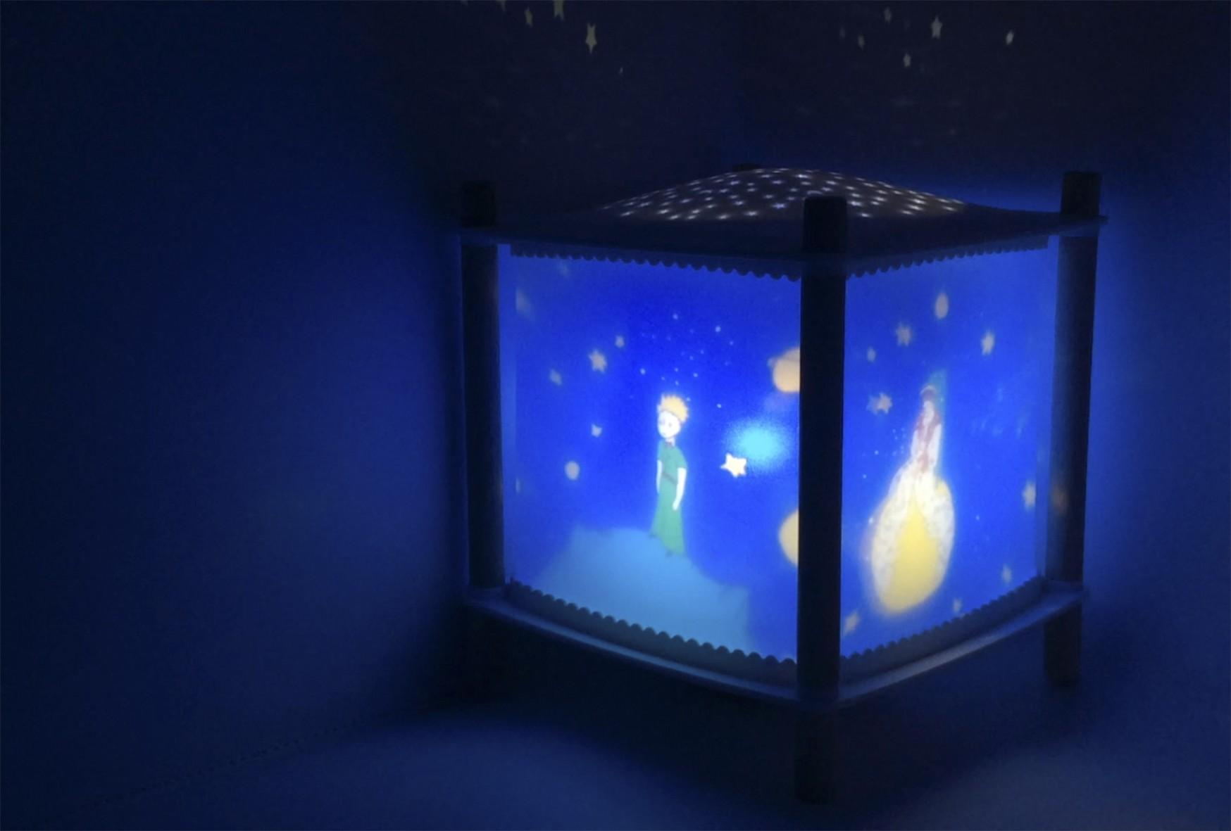 Veilleuse Lanterne ReVOLUTION 2.0 le Petit Prince© Bluetooth Trousselier
