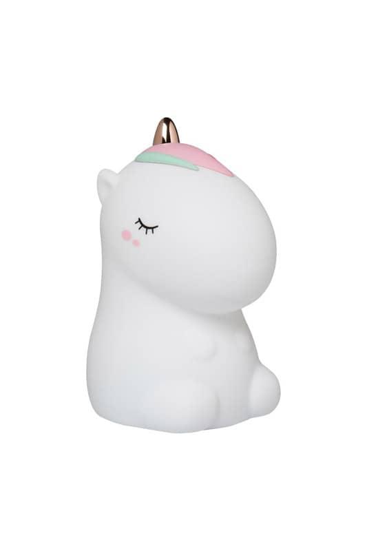 Veilleuse Licorne Lil'unicorn blanche Little L