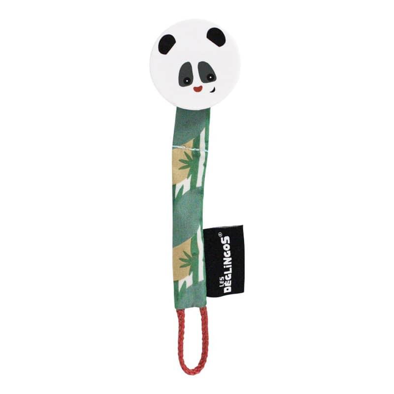 les deglingos attache sucette rototos panda